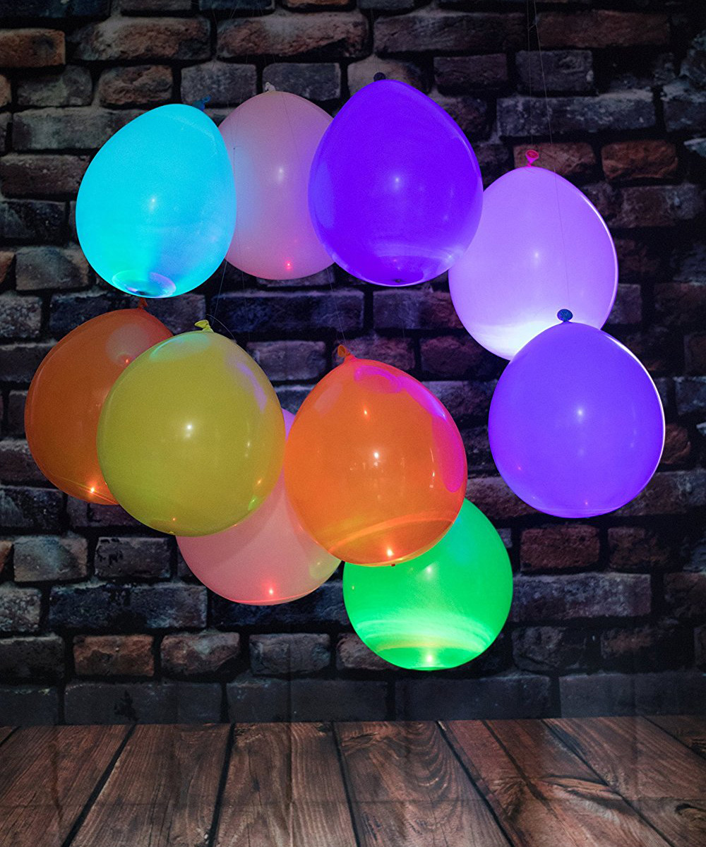 Led Light Up Balloons The Green Head