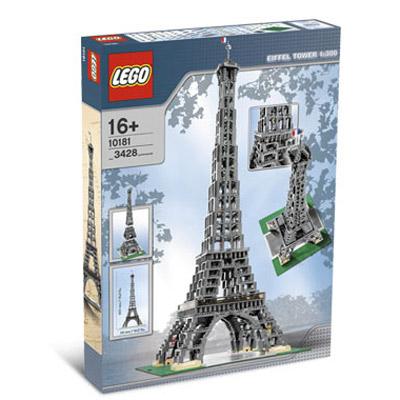 Lego eiffel tower the green head - Piezas lego gigantes ...