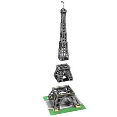 Lego Eiffel Tower The Green Head