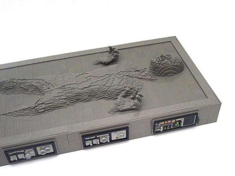 LEGO Life Size Han Solo Frozen In Carbonite 10000