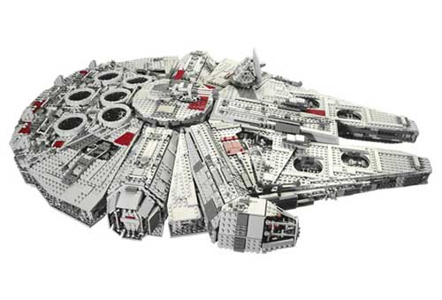 And yes, the Lego Millennium Falcon does look somewhat cool, and you simply