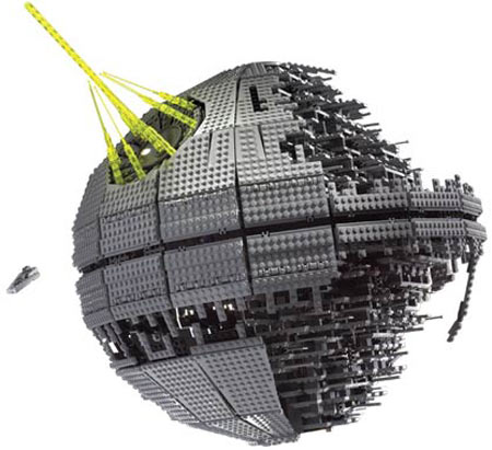 lego star wars death star ii 3441 pieces the green head