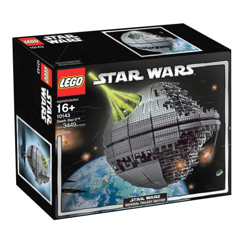 lego star wars death star ii 3441 pieces. Black Bedroom Furniture Sets. Home Design Ideas