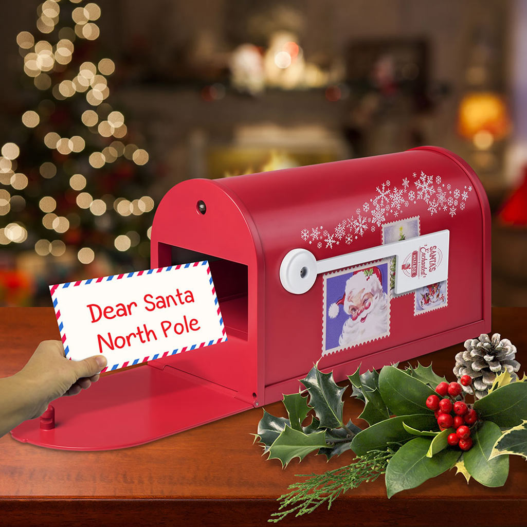 Letter To Santa Magic Mailbox