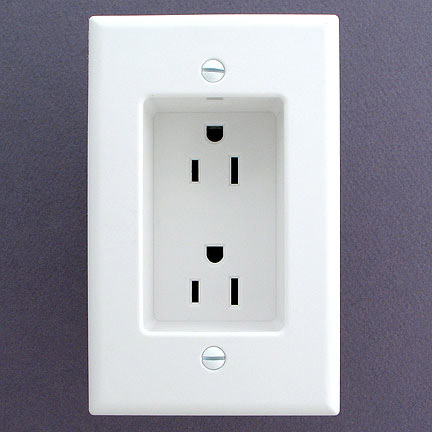 Leviton Recessed Power Outlet