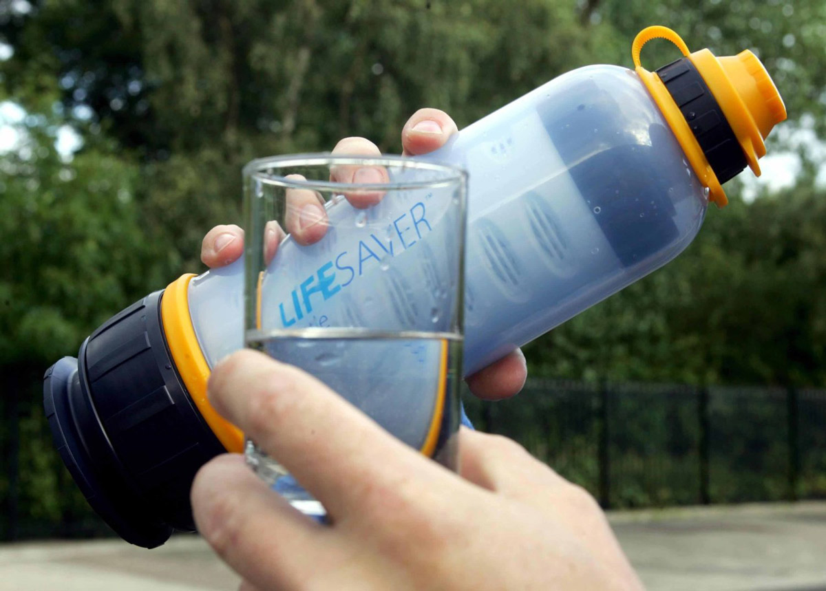 Lifesaver Bottle Ultra Filtration Water Bottle The