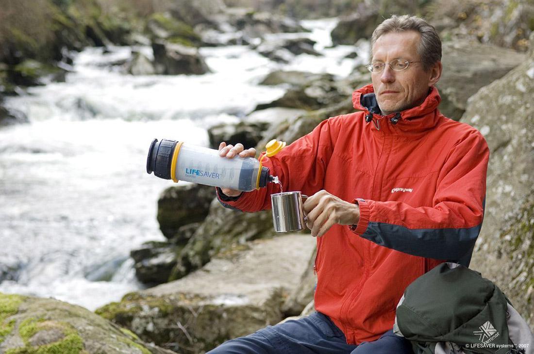 Lifesaver Bottle Ultra Filtration Water Bottle