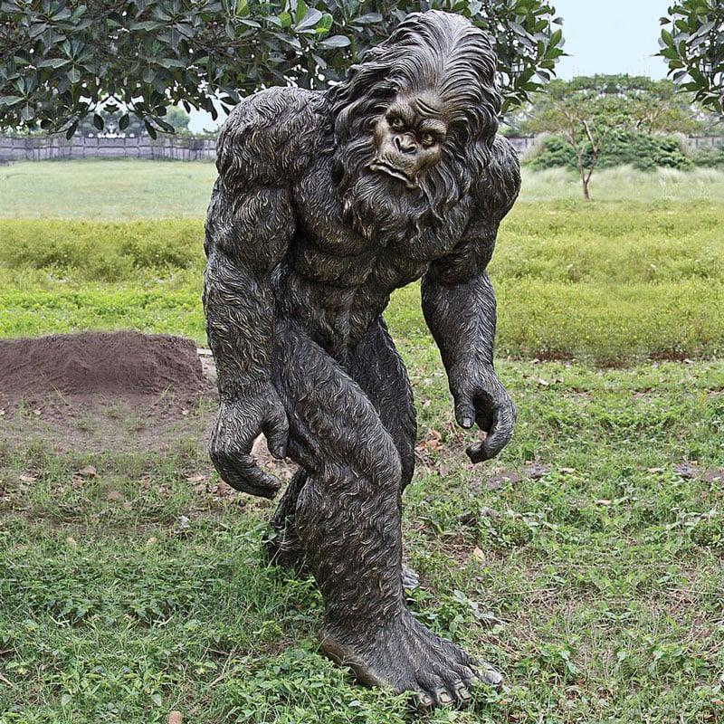 Lifesize Bigfoot Statue