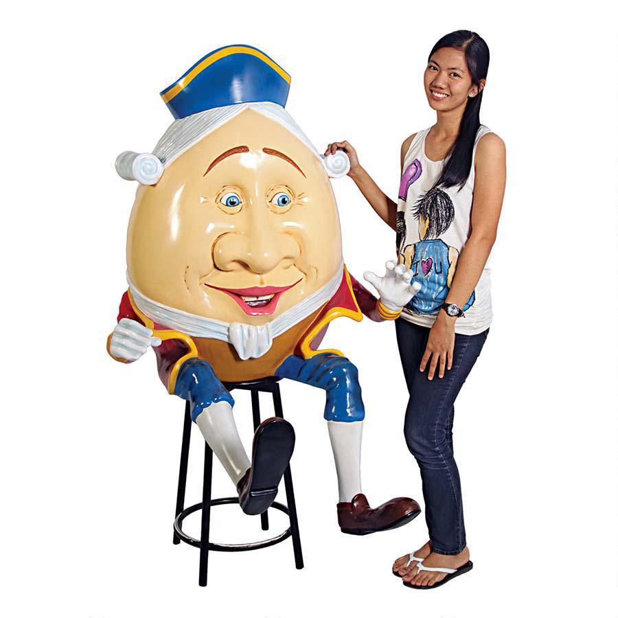 Lifesize Humpty Dumpty Statue