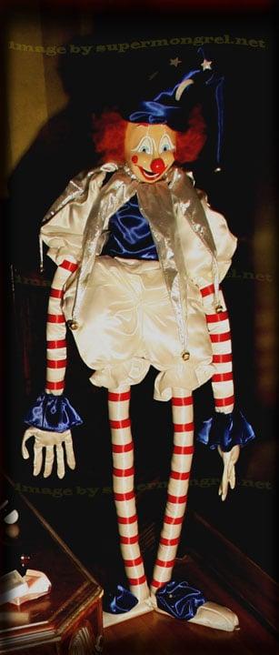 Lifesize Poltergeist Clown Replica
