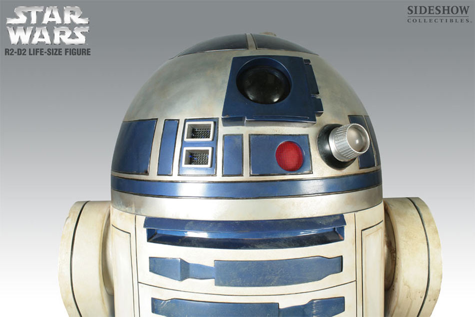 Lifesize C-3PO and R2-D2 Star Wars Droid Replicas - The Green Head