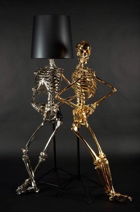 Lifesize Skeleton Floor Lamps