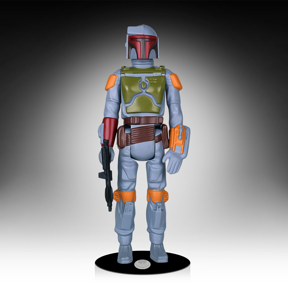 lifesize star wars boba fett kenner action figure the green head. Black Bedroom Furniture Sets. Home Design Ideas