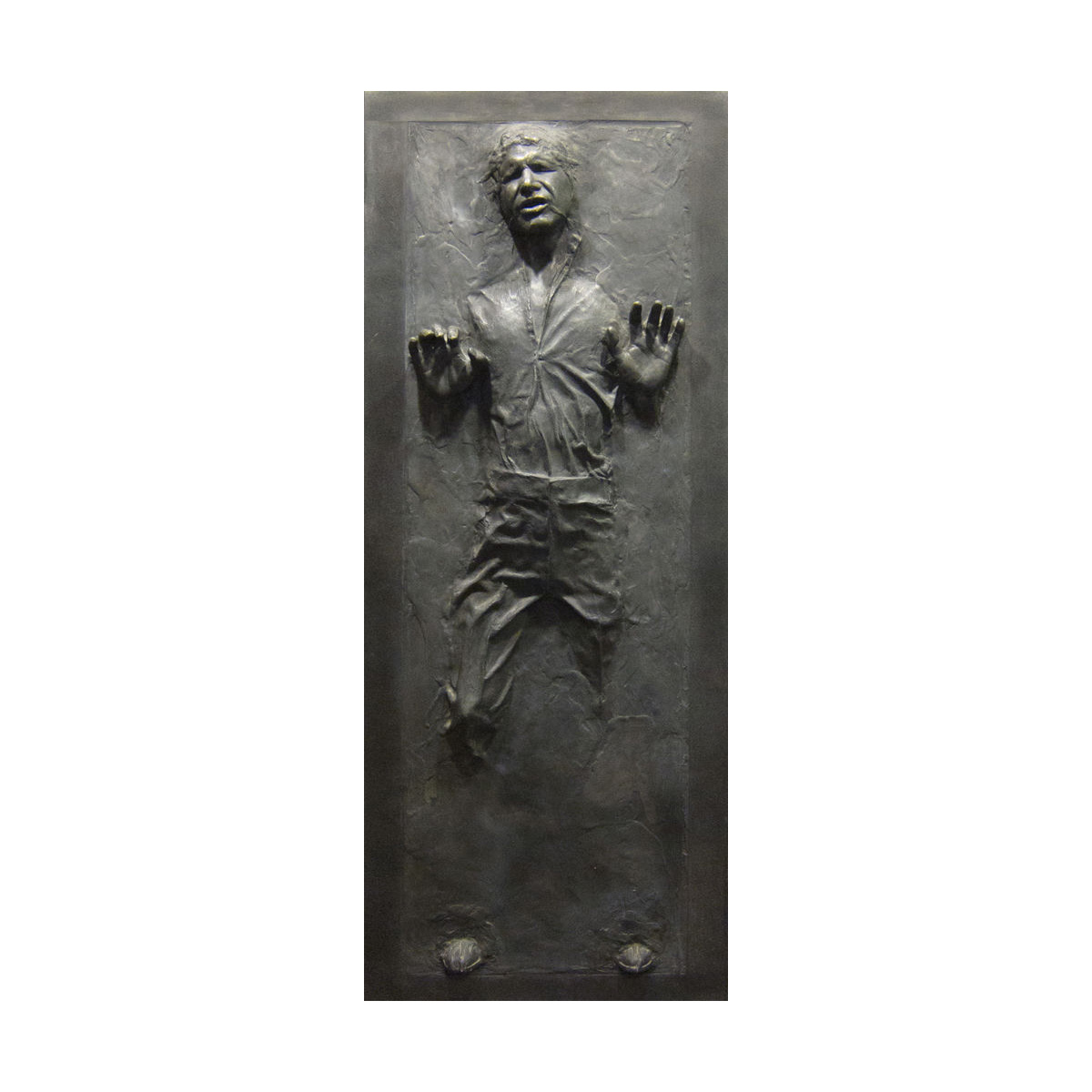 Superior Lifesize Star Wars Han Solo Frozen In Carbonite Wall/Door Decal