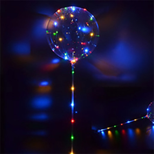 Light Up Led Balloons On A Stick
