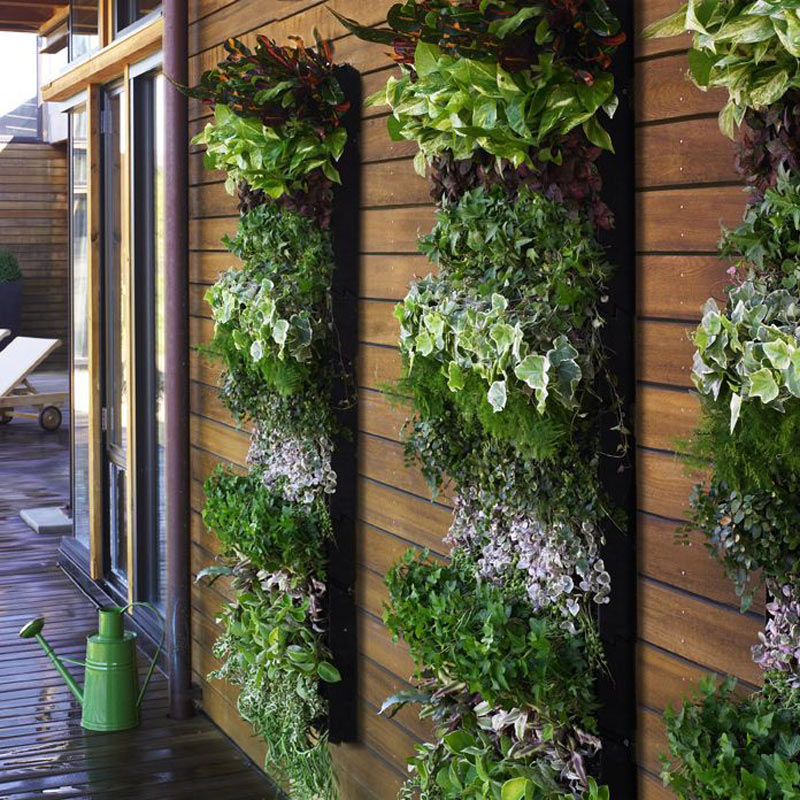 Living wall planter large vertical garden the green head Herb garden wall ideas