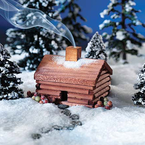 Log Cabin Incense Burner The Green Head