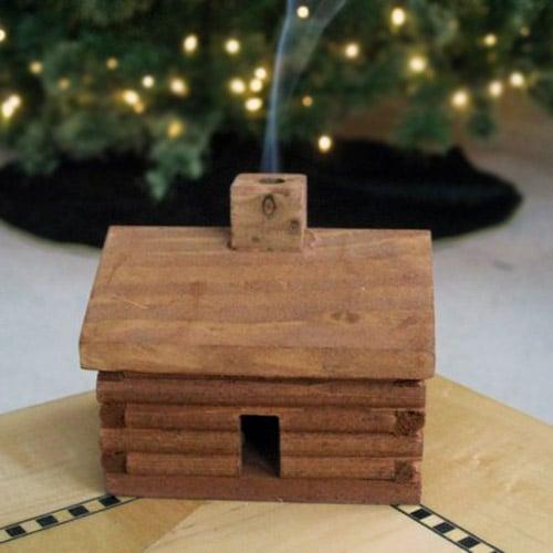 Log Cabin Incense Burner Thegreenhead Com