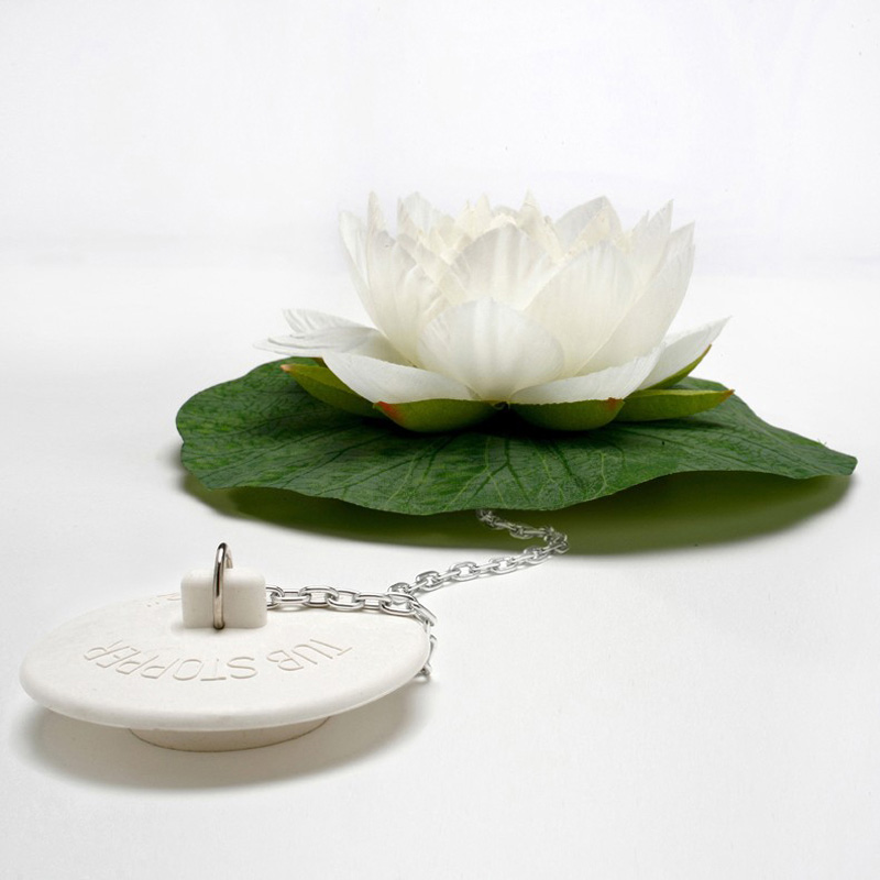 Lotus bath plug the green head lotus bath plug mightylinksfo