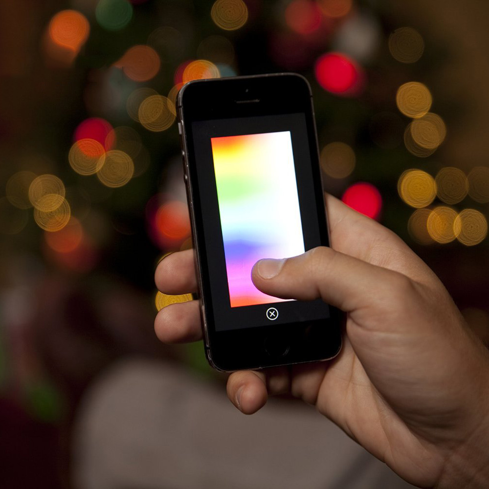 lumenplay interactive app controlled string lights 16 million colors - Colors App