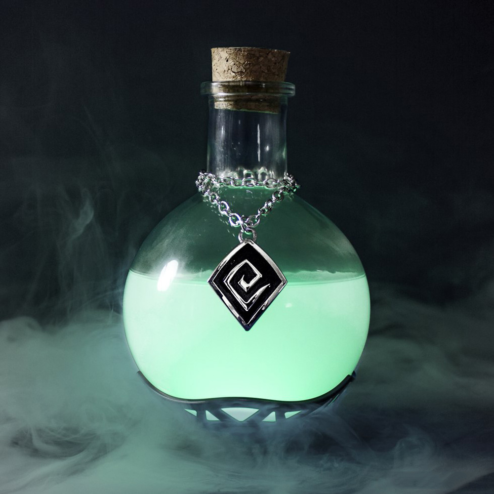 Magic Potion Lamp The Green Head