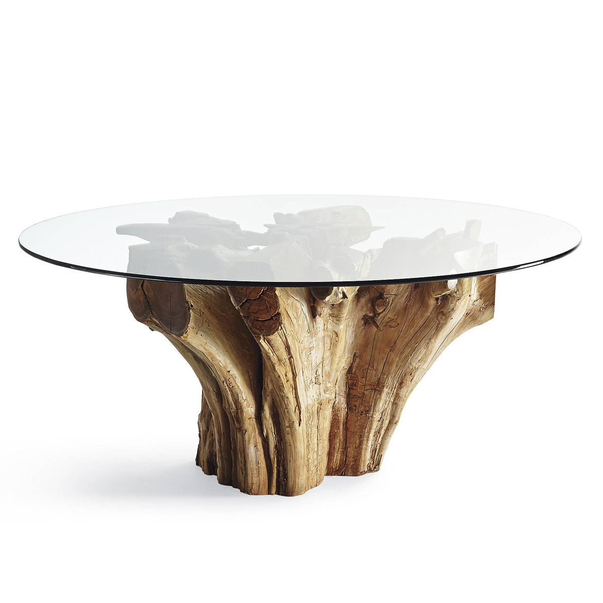 Majestic Teak Root Dining Table - The Green Head