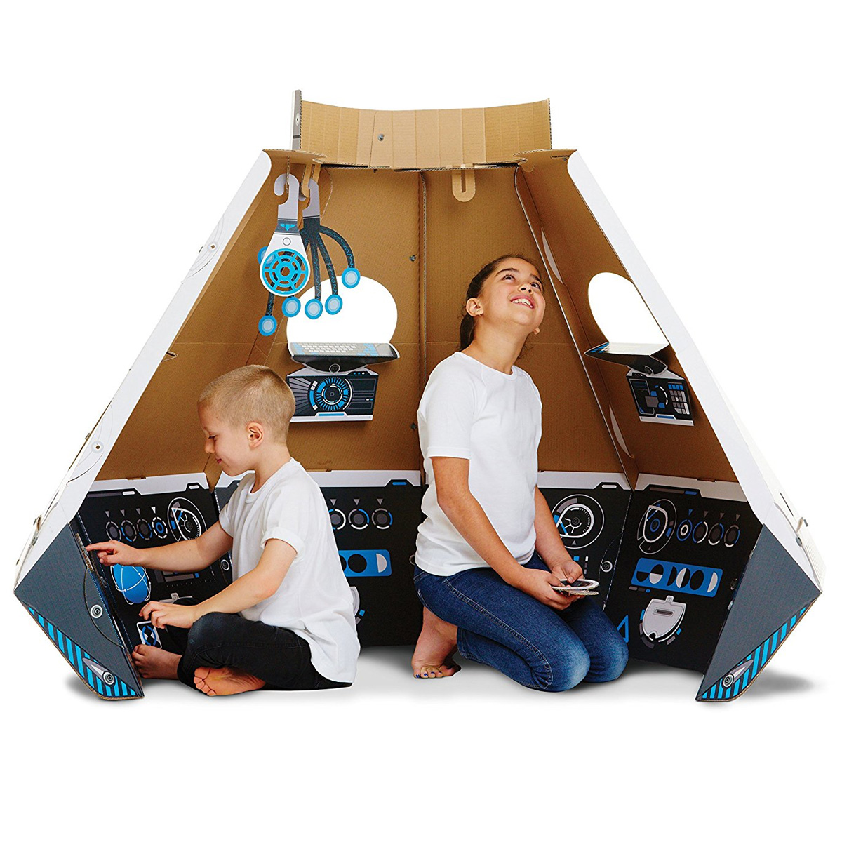 Makedo Gigantic Cardboard Construction Space Pod The