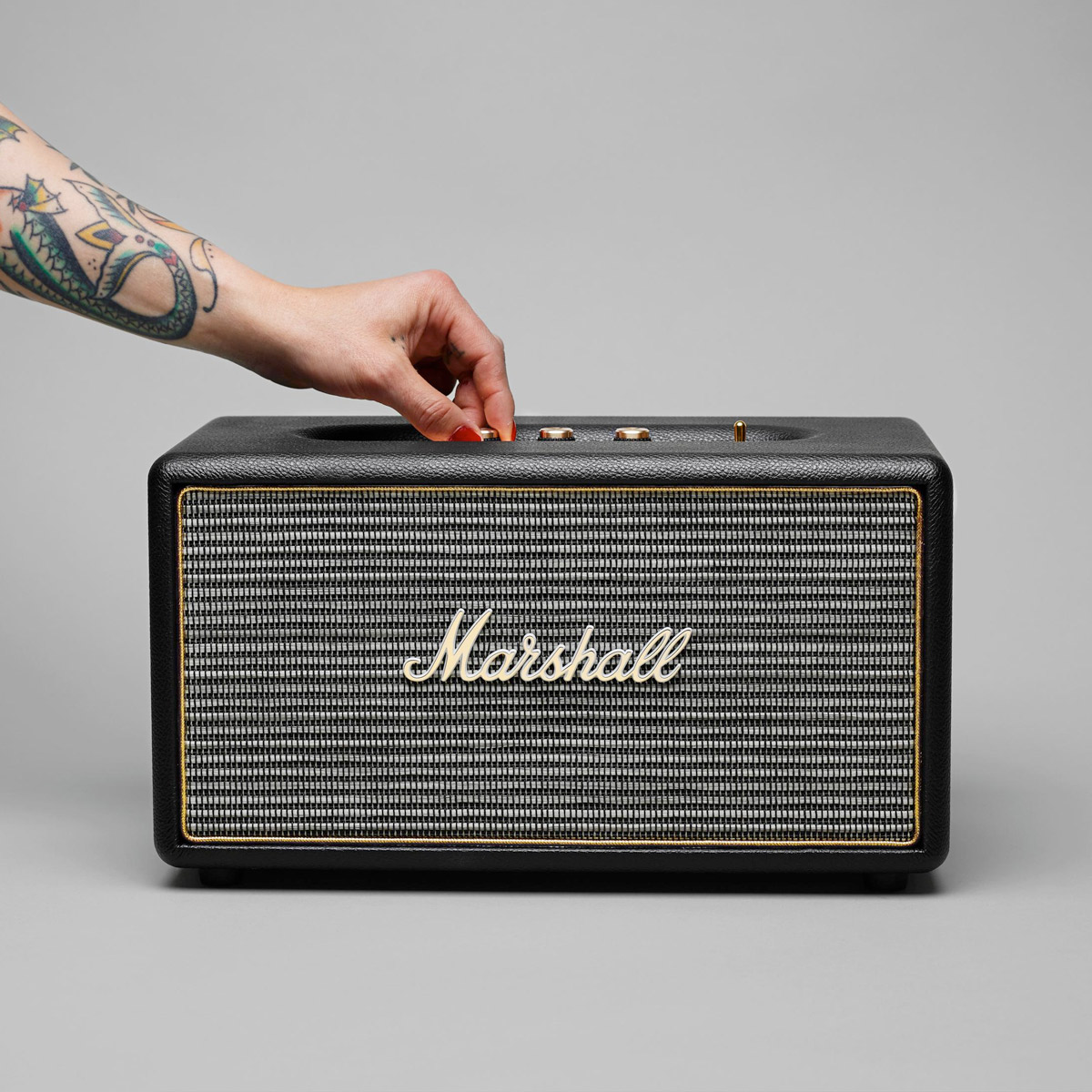 Marshall Stanmore Wireless Bluetooth Speaker The Green
