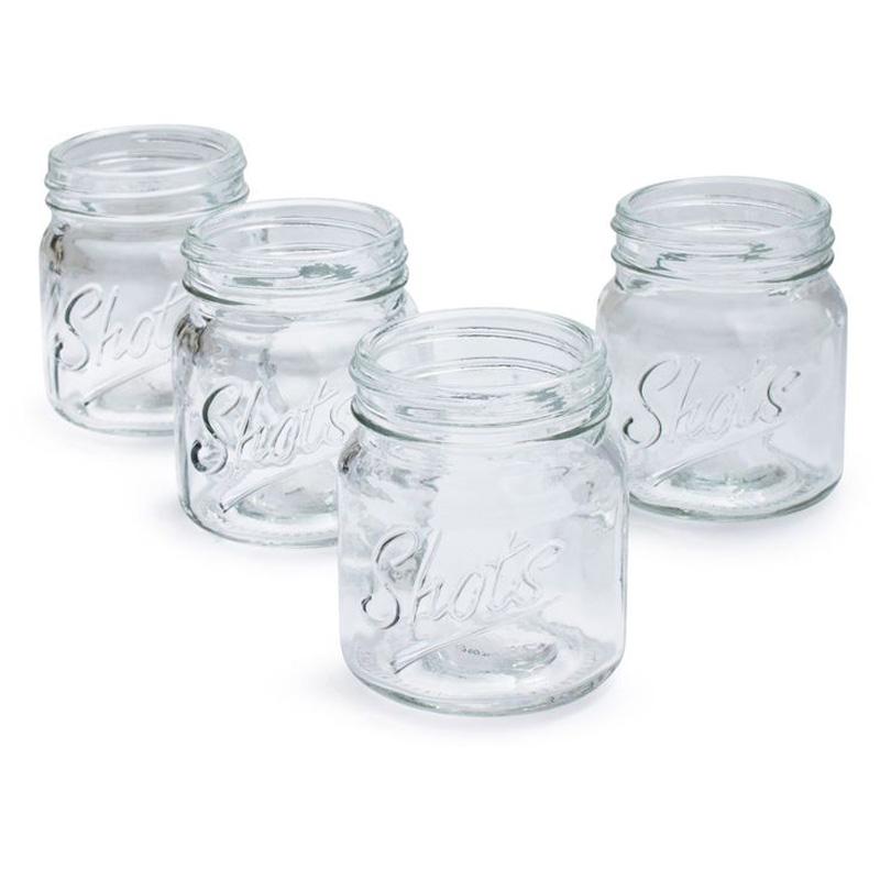 Mason jar shot glasses the green head - Mason jar goblets ...