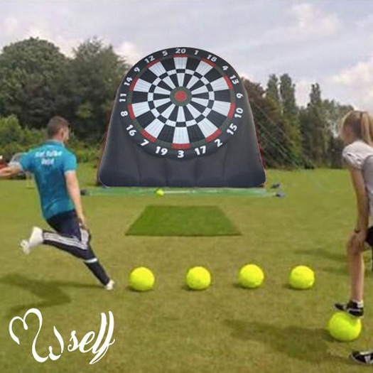 Massive 20 Foot Tall Inflatable Soccer Dartboard - The ...