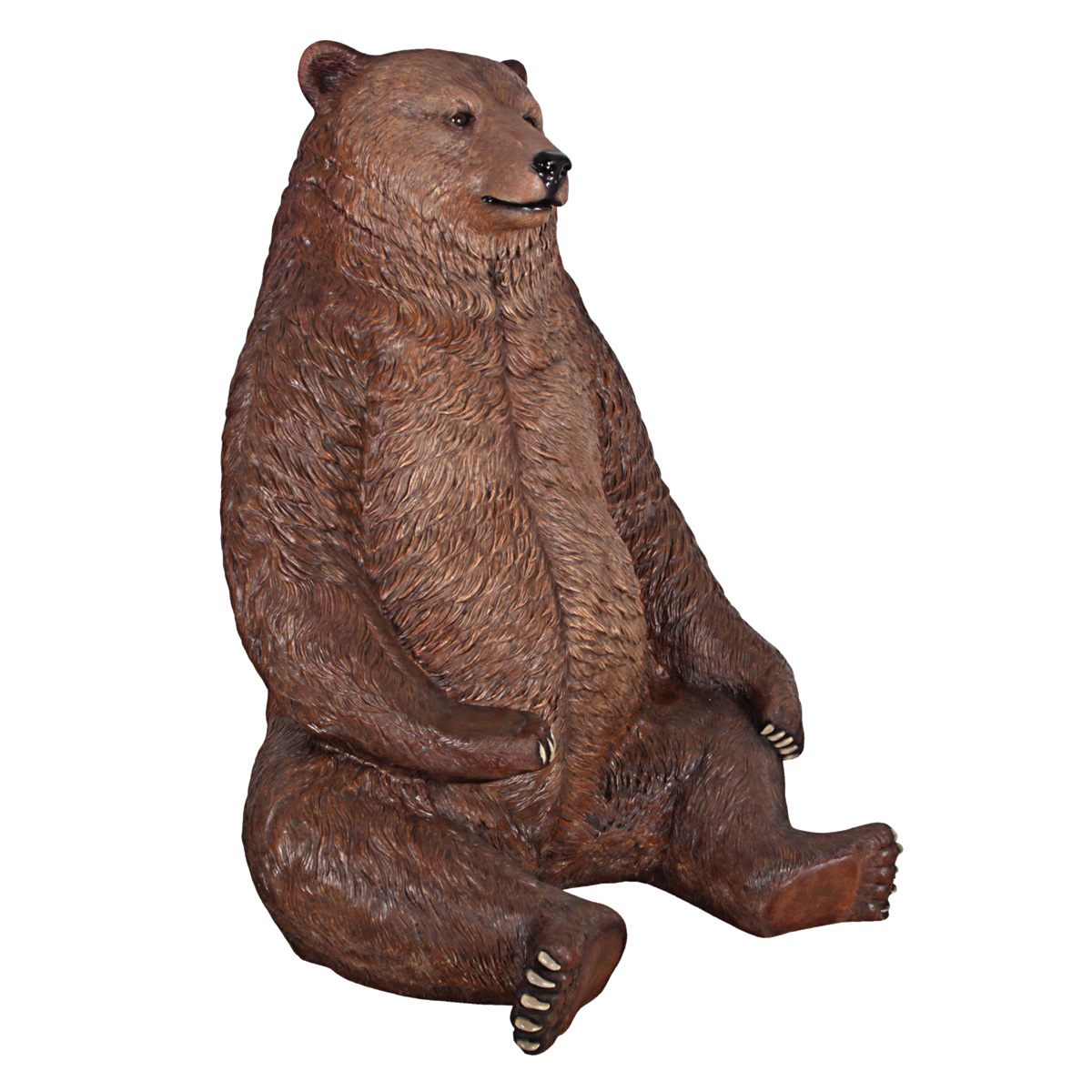 Massive Brown Bear Chair The Green Head