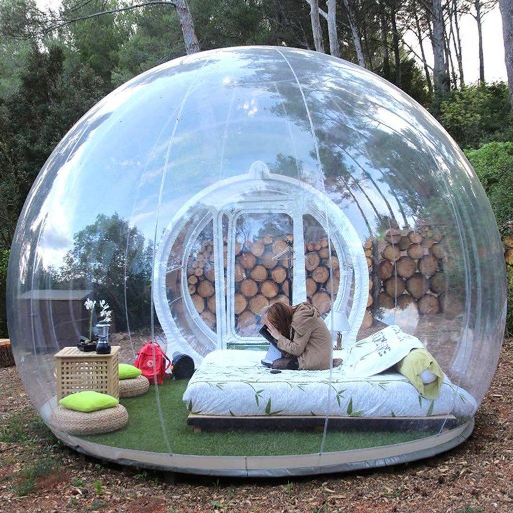 Massive Inflatable Bubble Tent
