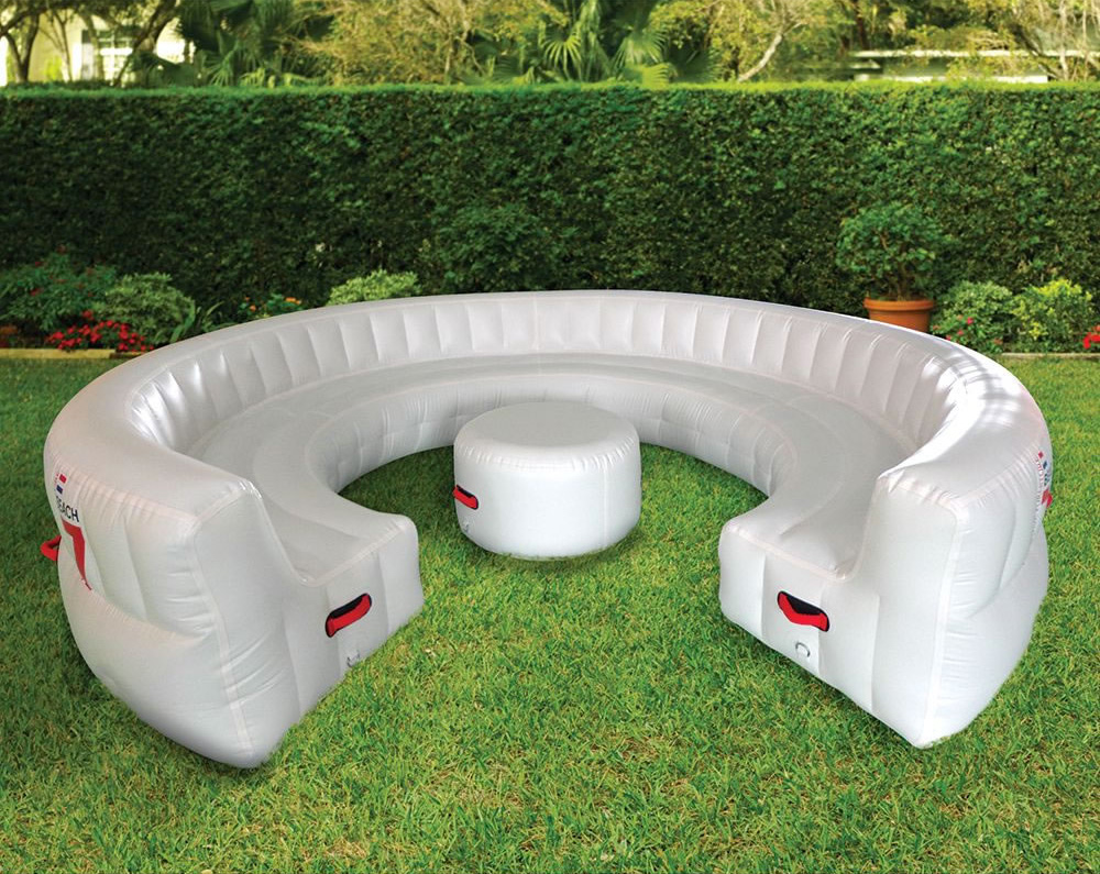 Massive Inflatable Outdoor Party Sofa Seats 30 Guests