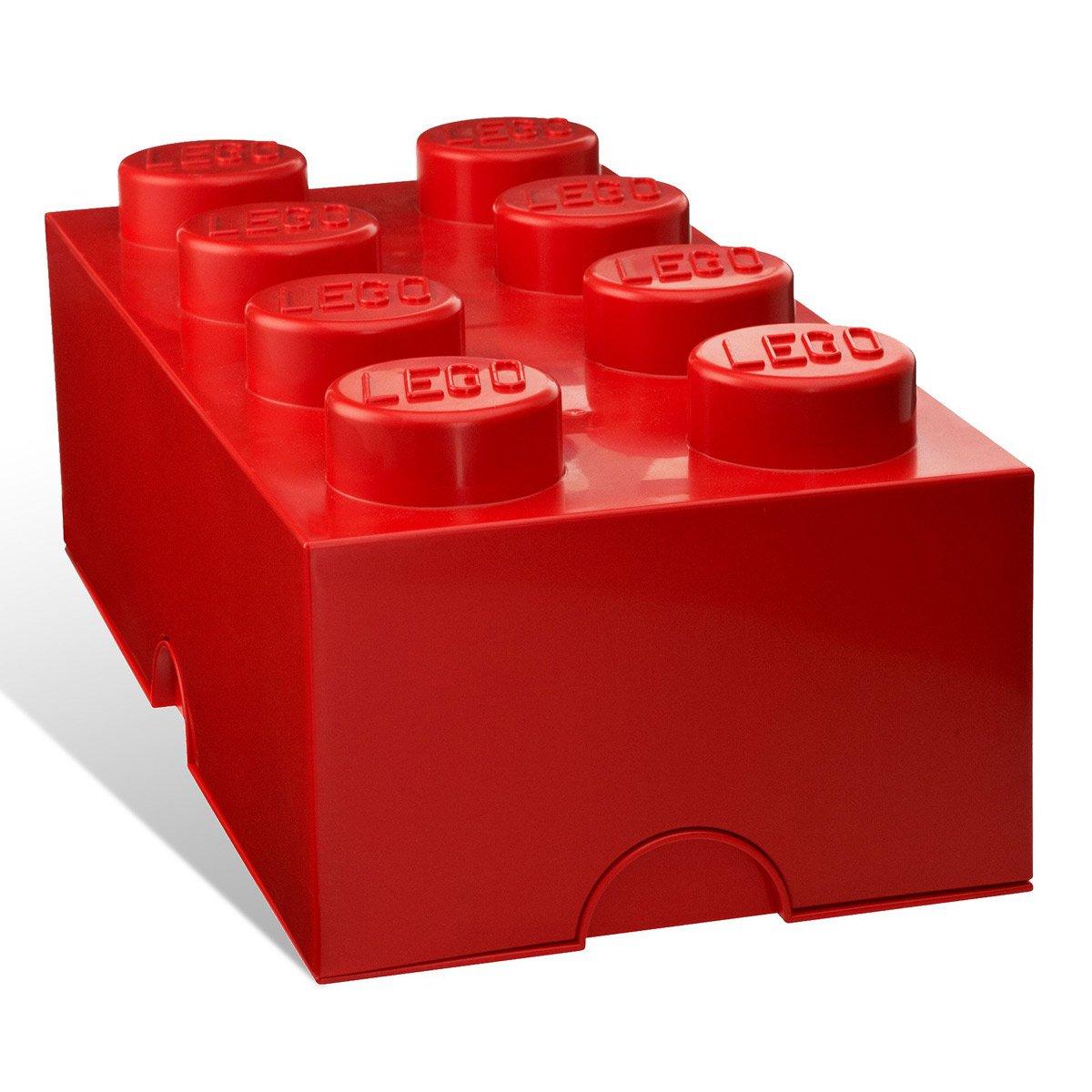 Massive lego stackable storage bricks the green head - Lego boite rangement ...