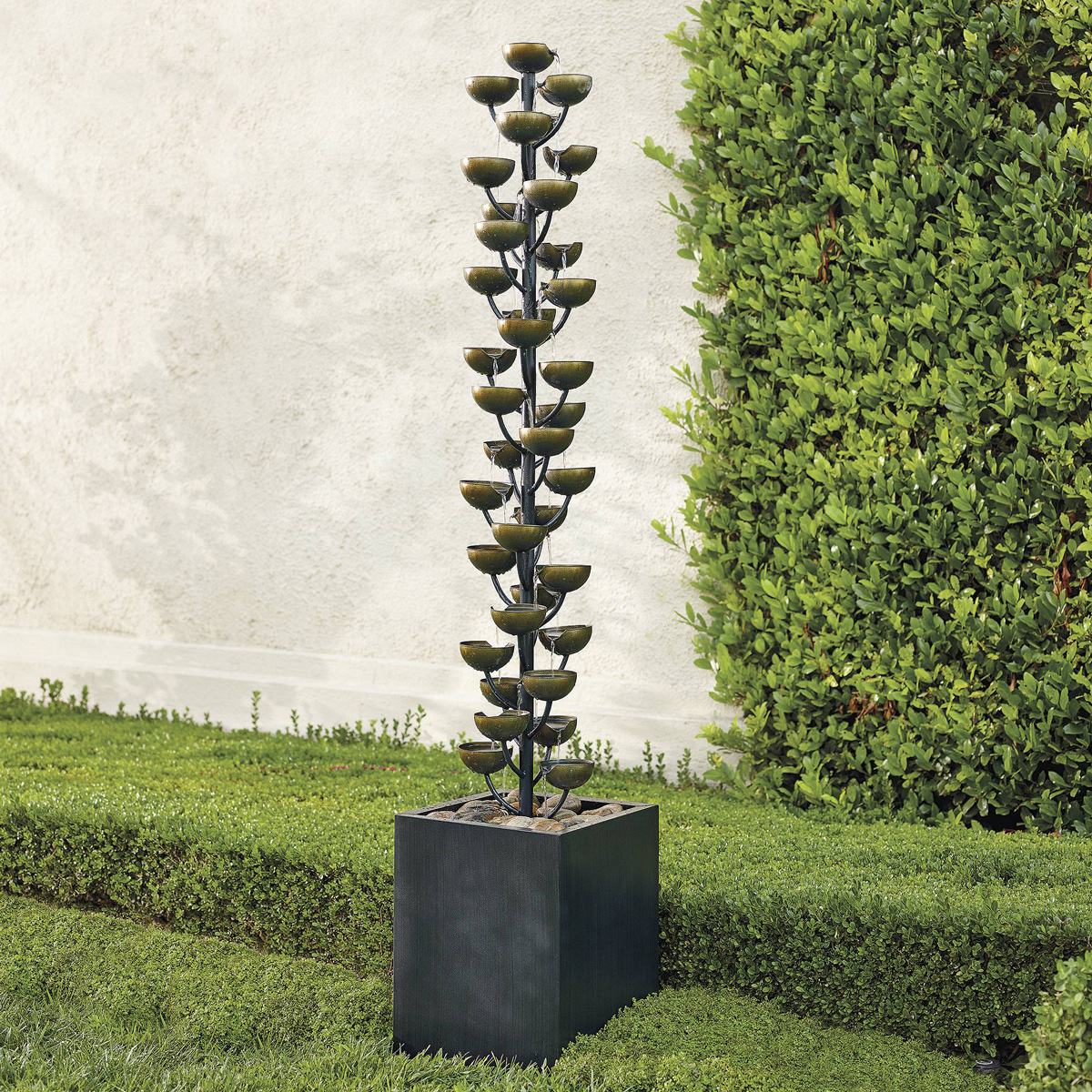 Massive lotus flower water fountain the green head massive lotus flower water fountain dhlflorist Images