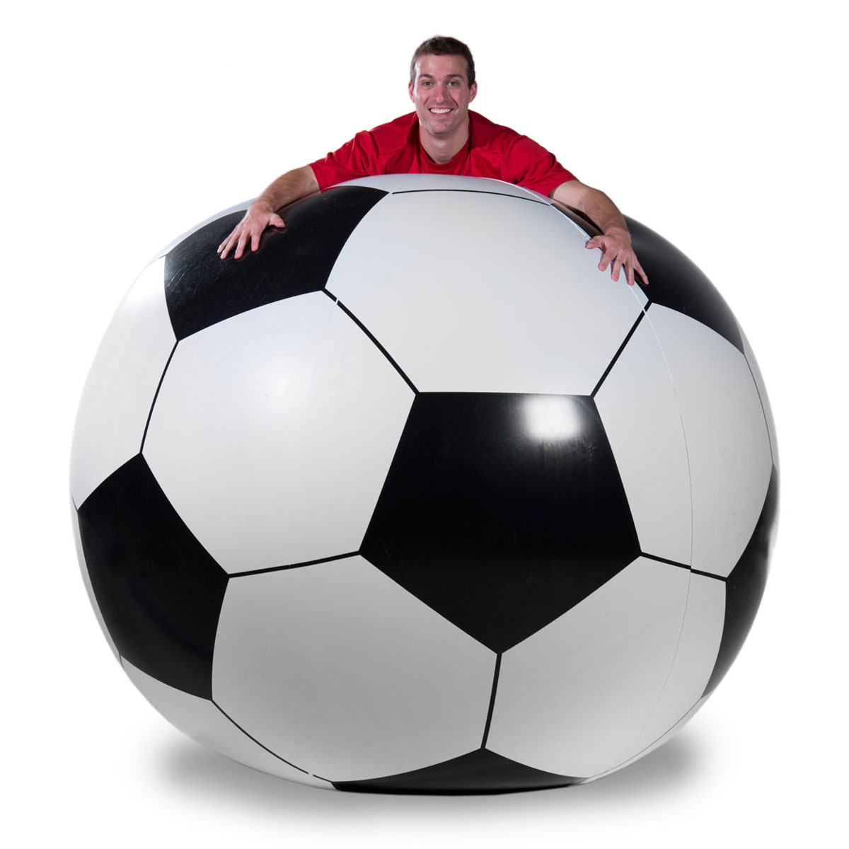 Soccer: Massive 6' Inflatable Soccer Ball