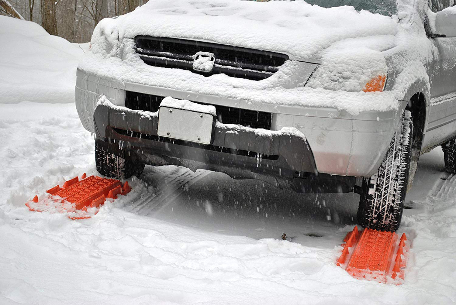 Maxsa Escaper Buddy Vehicle Traction Mats For Snow Ice Sand And Mud