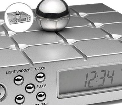 Memory Ball Alarm Clock And Radio The Green Head