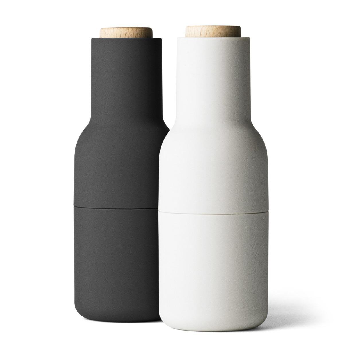 menu salt and pepper bottle grinders the green head. Black Bedroom Furniture Sets. Home Design Ideas
