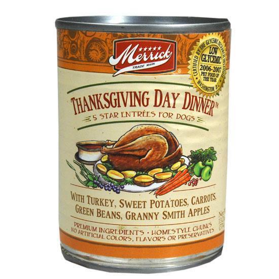 Merrick Thanksgiving Day Dinner Dog Food