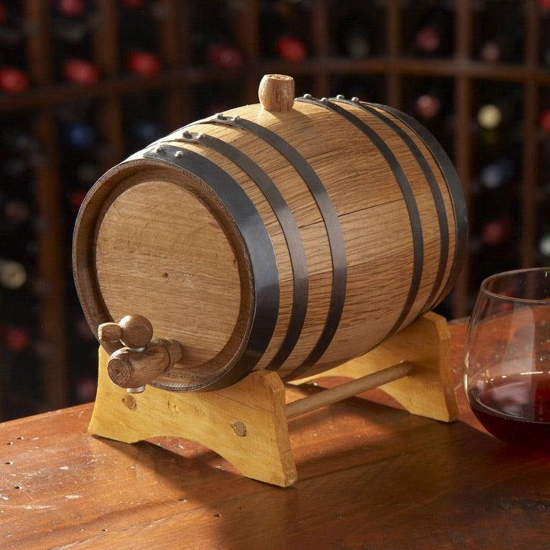 Mini Oak Wine Barrels The Green Head