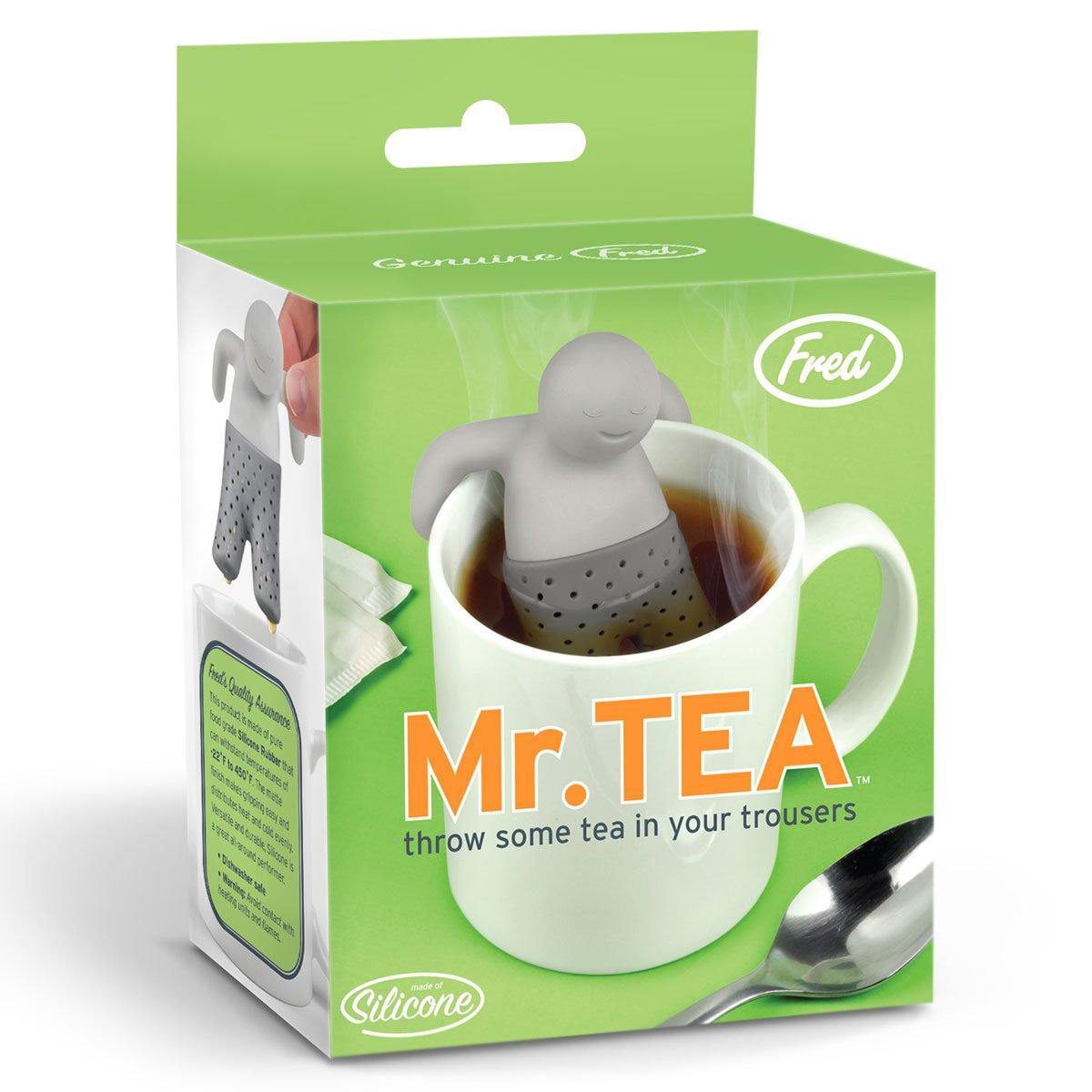 mister tea infuser the green head. Black Bedroom Furniture Sets. Home Design Ideas