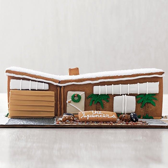 Modern Gingerbread House - The Green Head