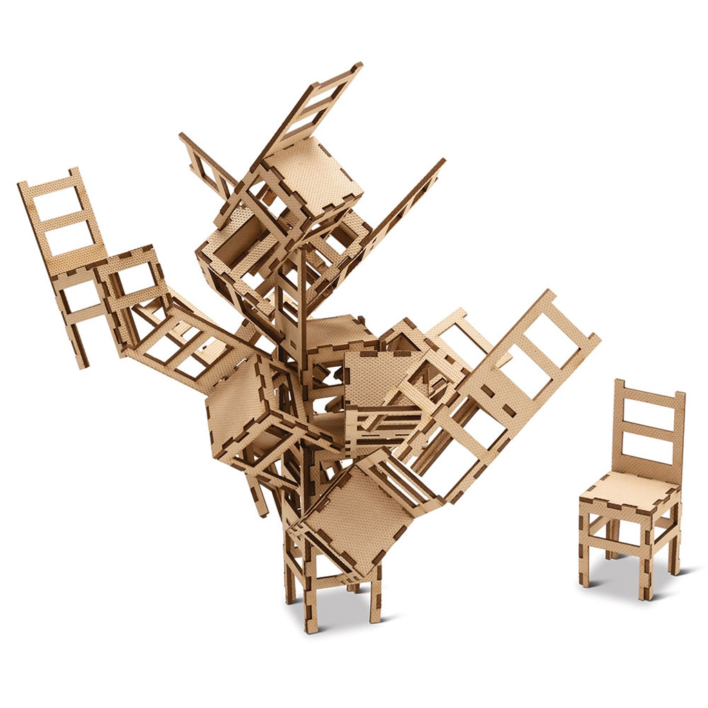 Pick Up Pete The Ultimate Chair Stacking Game Perfect for Home Entertainment