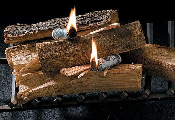 Money To Burn Fire Starters The Green Head