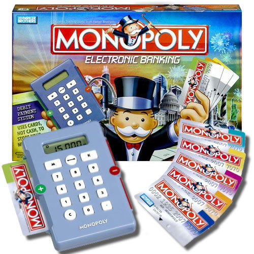 Monopoly Electronic Banking Edition The Green Head