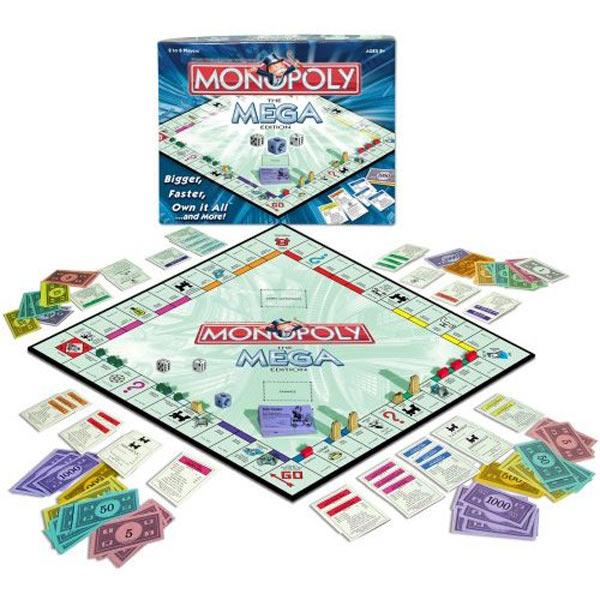 Monopoly - Mega Edition : Bigger Better Faster