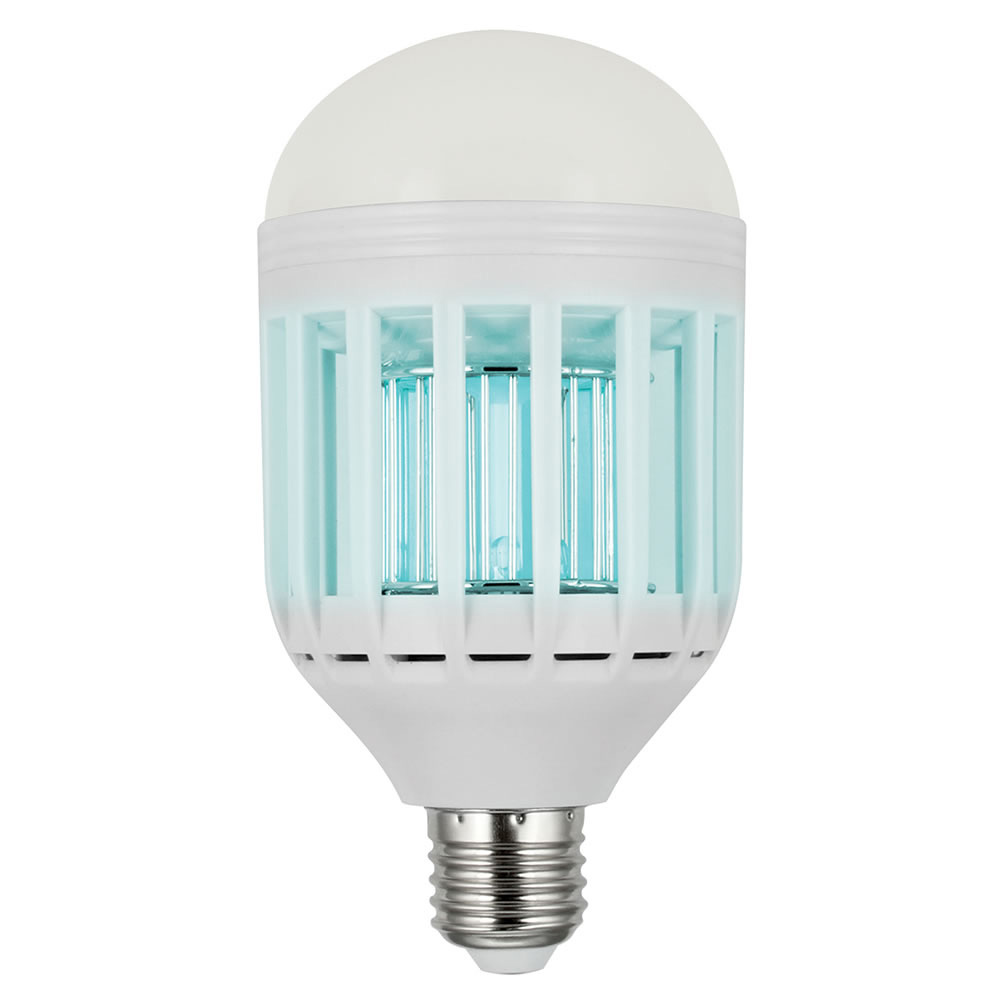 Mosquito Zapping Led Light Bulb Kills Flying Pests The Green Head