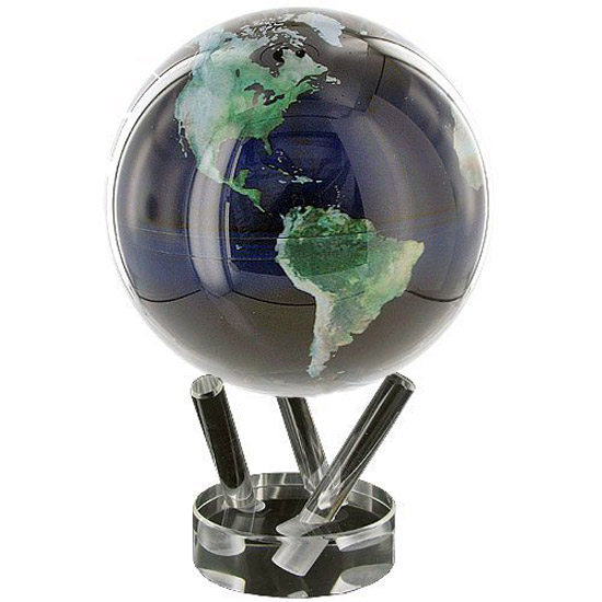 Mova Globe Perpetual Motion Rotating Globe The Green Head