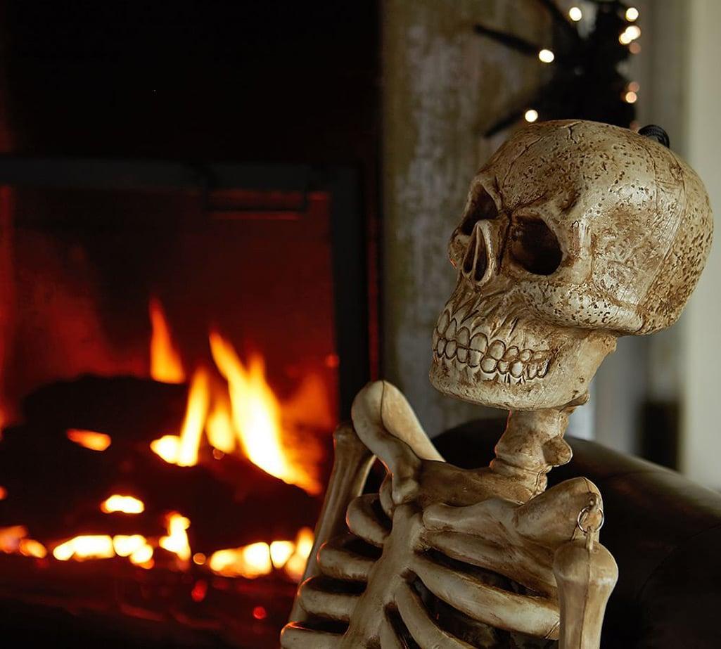 Mr Bones Lifesize Outdoor Skeleton
